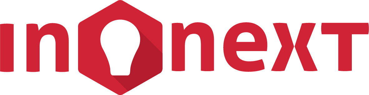 Inonext Logo Black Tagline, Innovate The Next