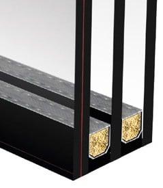 PVC-prozori-Troslojno staklo lamistal