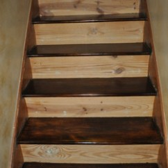 How To Refinish Wood Chairs Human Touch Perfect Chair Replacement Parts Staircase Remodel - In Our Spare Time