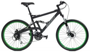 2018 Gravity FSX 2.0 Dual Full Suspension Mountain Bike Shimano Acera Suntour