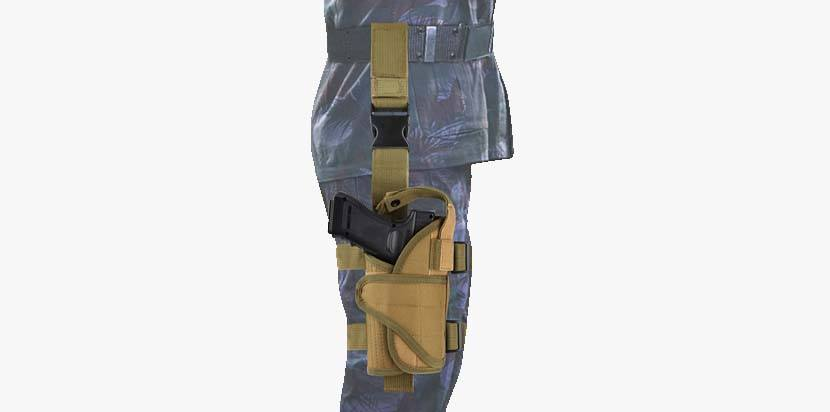 EZT3D Drop Leg Holster