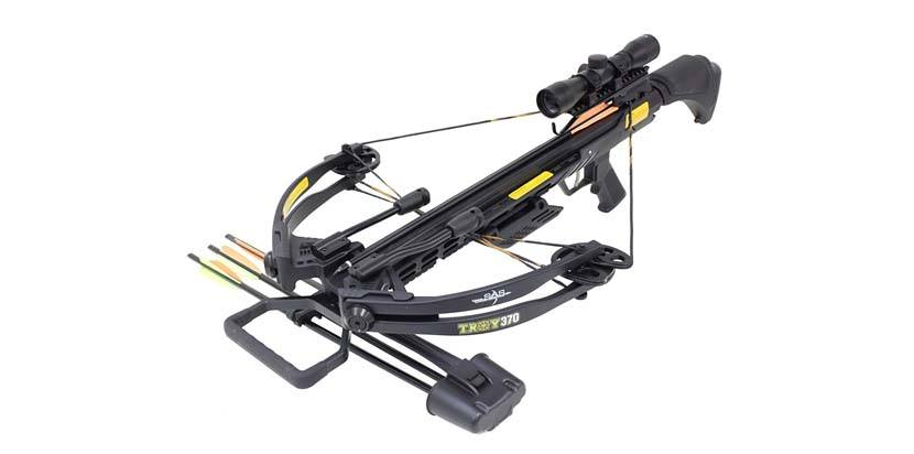 SAS Troy 370 Compound Crossbow: best budget crossbow