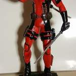 Model Of Deadpool And Harley Quinn Painted Plus Review