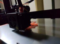 Aibecy CR10 mini print in progress