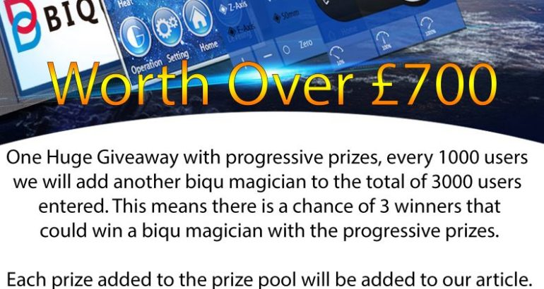 Giveaway Biqu Magician Must Enter Lots To Be Won ENDED
