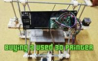 Buying a used 3d printer