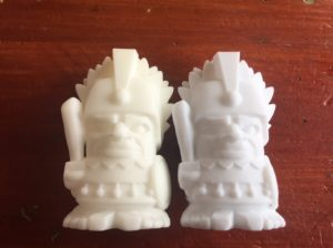 tronxy white pla-aztec chief compare