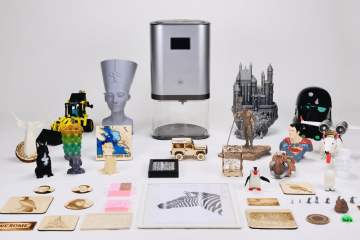 The IVI 3D Printer…A high end an all in one solution?
