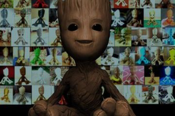 Baby Groot Body Time Lapse