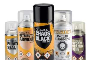 Citadel Paints: How they are classified into different types?