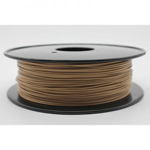 Tesla Maple Wood PLA Filament Review, Smells like wood