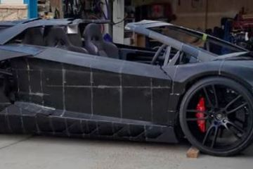 Lamborghini Aventador: 3D printed by a Father/Son team