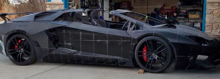 Lamborghini Aventador: 3D printed by a Father/Son team