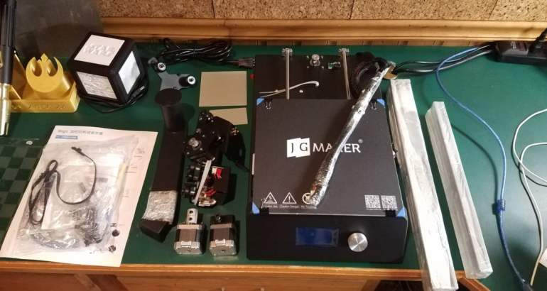 JGMaker Magic: Just another $200 3D printer?