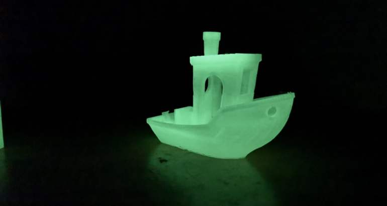 Geeetech Glow in the Dark PLA - Review