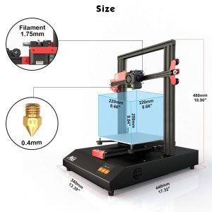 Anet ET4 2019 3D Printer with Industrial Grade Chipset