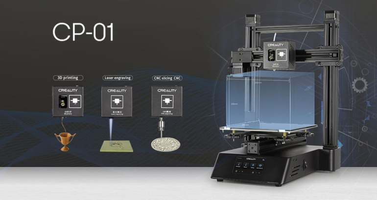 Creality CP-01 3D Printer - The 3 in 1 engraving 3D printer
