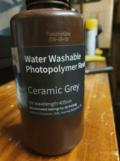 Elegoo Water Washable Resin - Is it a washout?
