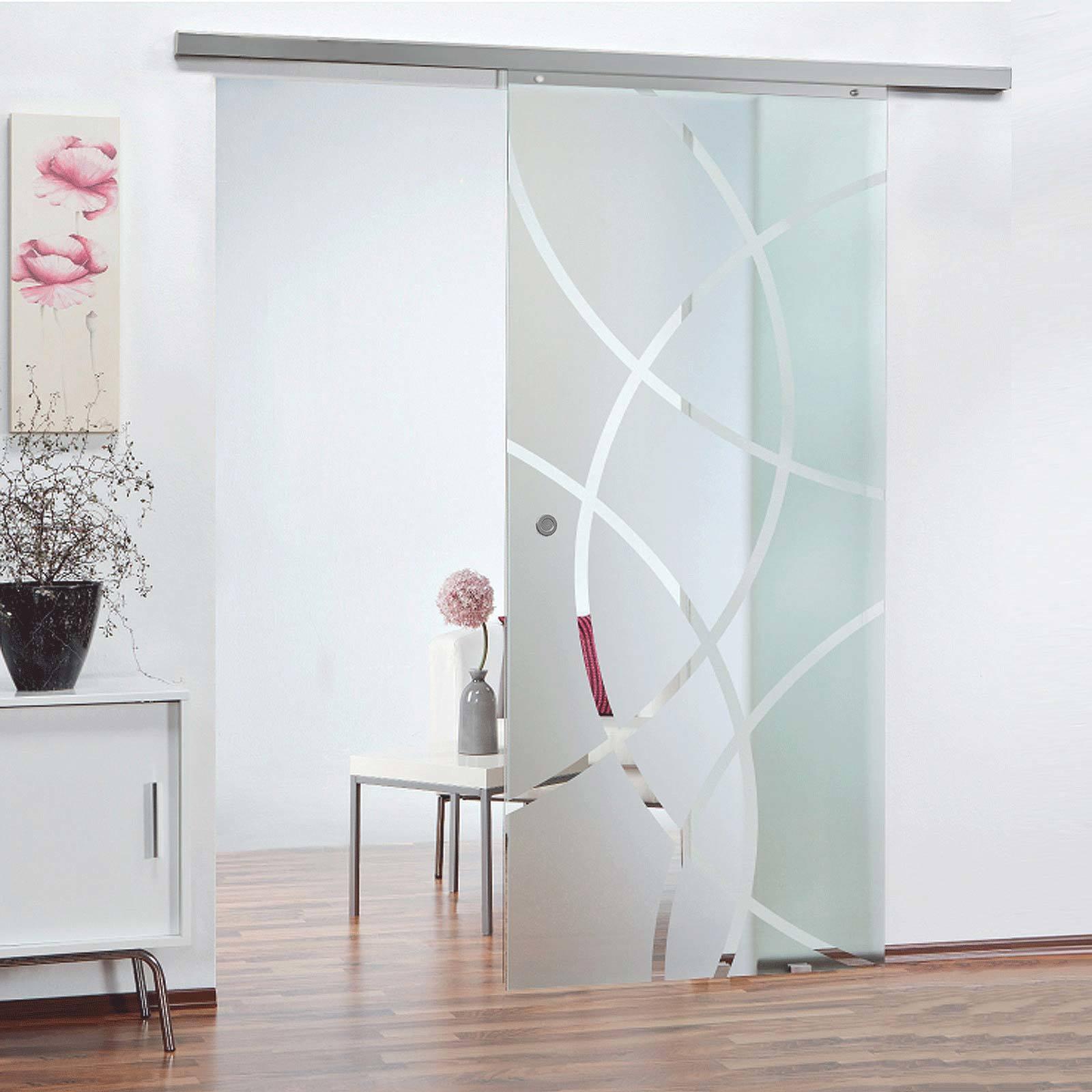 portes coulissantes en verre