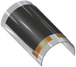 Bateria flexível sólida promete enrolar sua tela