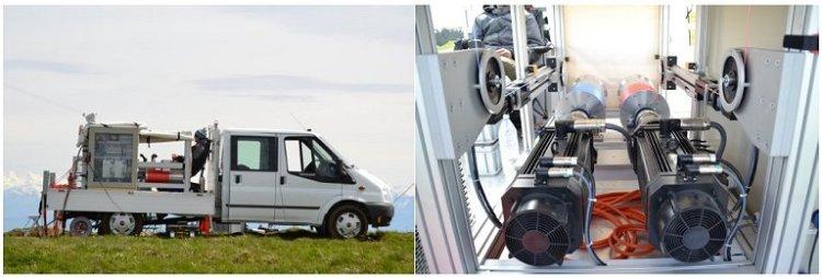 Pipa geradora de eletricidade viabiliza fazenda eólica móvel