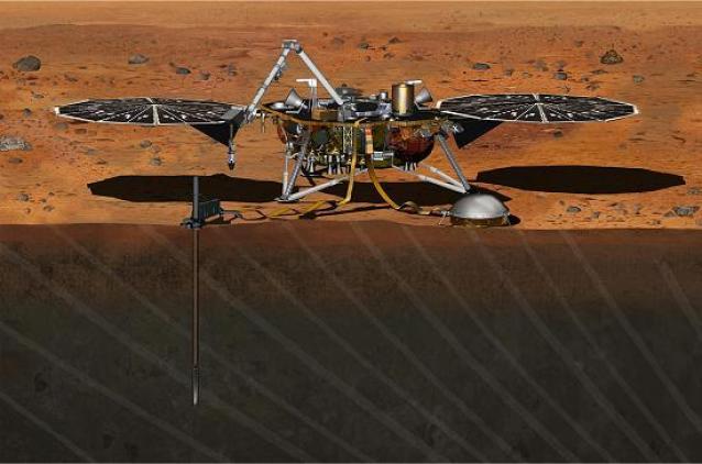 Marte treme: Detectado primeiro sinal de um martemoto