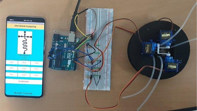 Processador de DNA finalmente em um chip program