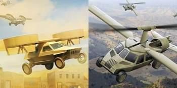 Carro-helicóptero vai voar sozinho