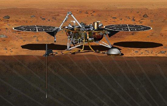 NASA suspende missão para estudar interior de Marte