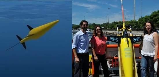 Robôs partem para coletar dados oceanográficos no pré-sal
