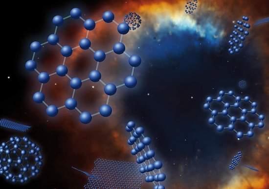 NASA anuncia descoberta de grafeno no espaço
