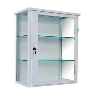 armario de vitrine sngpc - Confira quais são os móveis para farmácias mais adequados para fazer a exposição dos produtos