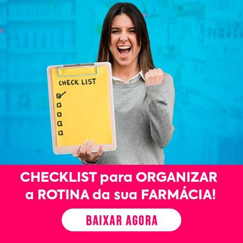 Checklist para Organizar a Rotina da Farmácia