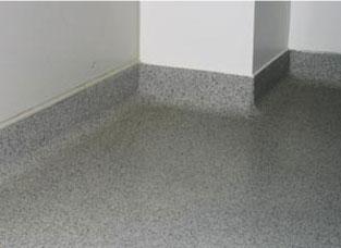 Terrazzo Reinraumboden Epoxidharzboden Colorquarzsande