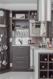 Respaldo de cocina y bacha