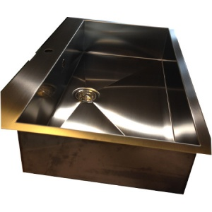 Lavelli da cucina in acciaio inox su misura Verona Lavelli in corten bronzo rame e peltro