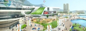 USA Pavilion at Yeosu - artist's rendering
