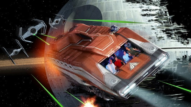 Star Tours: The Adventures Continue (C) Disney
