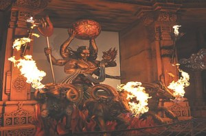 Wrath of the Gods at Adlabs Imagica