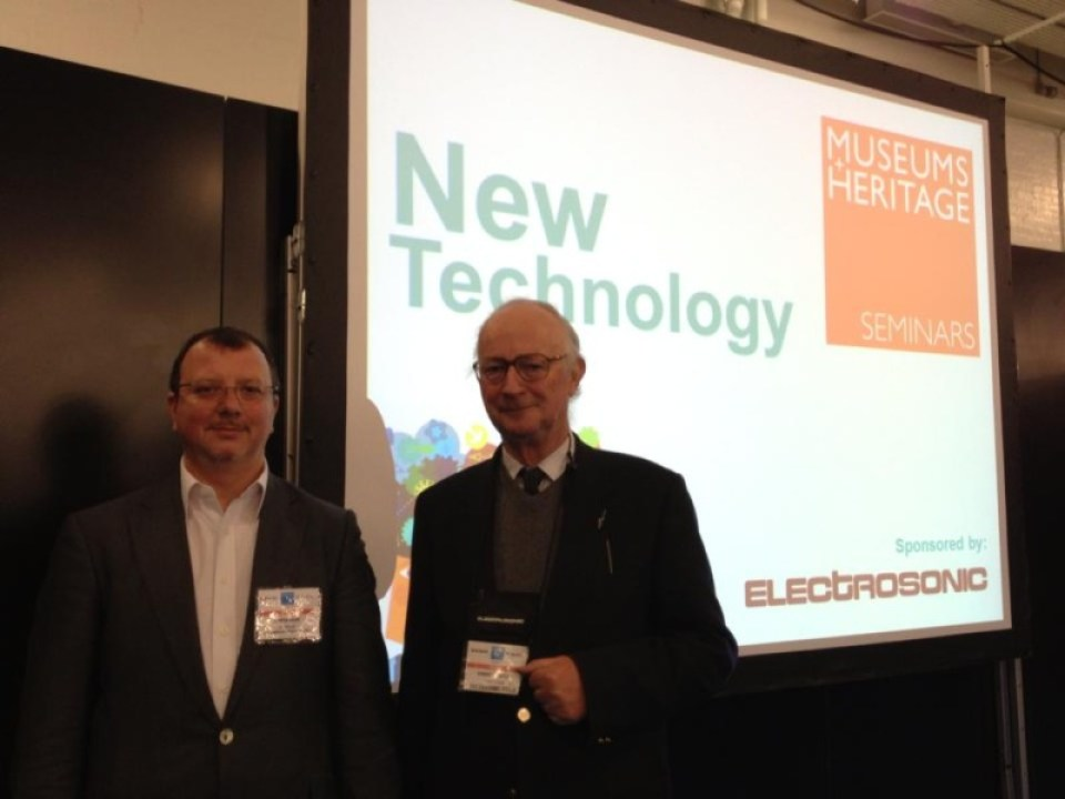 Electrosonic's Martin Howe and Robert Simpson