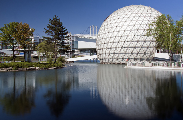 Ontario Place and Cinesphere, world's first permanent IMAX theater