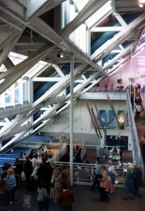 Knoxville Expo 82: Inside the US Pavilion. Photo: Bill Cotter