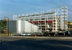 The 1,000-seat IMAX Theater at the US Pavilion, Knoxville '82. Photo: Bill Cotter