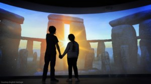 The Stonehenge Visitor Centre. Image courtesy English Heritage