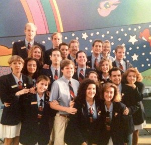 Guides at the US Pavilion, Seville Expo 92. Photo courtesy James Ogul.