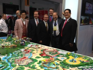 IAAPA Leaders visit the ProSlide booth