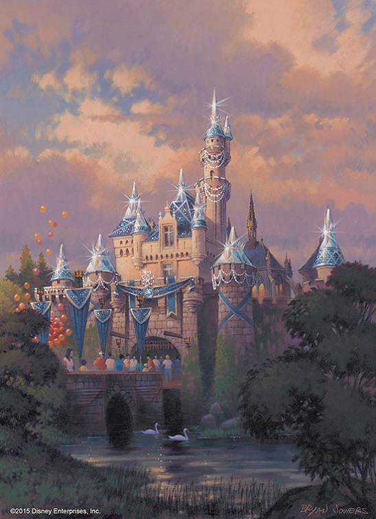 disneyland-60th-castle-art