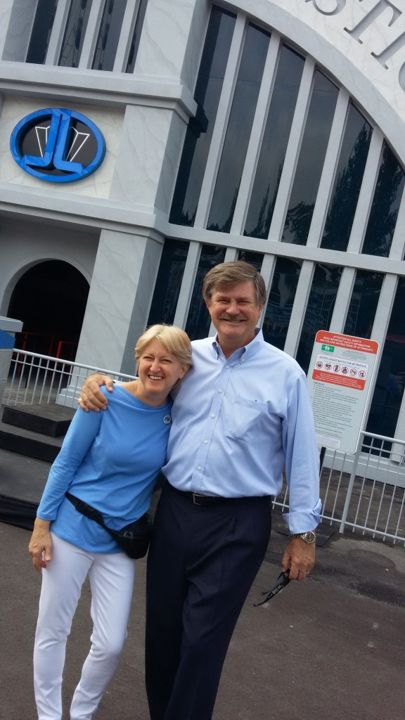 Donna Gentry, VP/Project Management and John Wood, Chairman and CEO, Sally Corporation