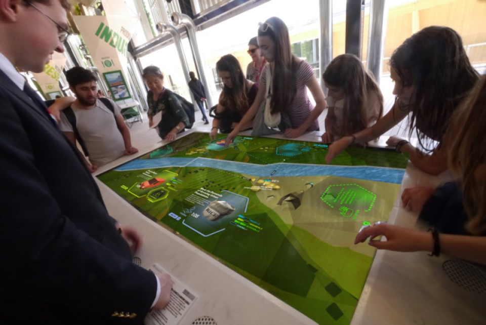 Feeding the Planet Together at the USA Pavilion in Milan. All photos courtesy Unified Field.
