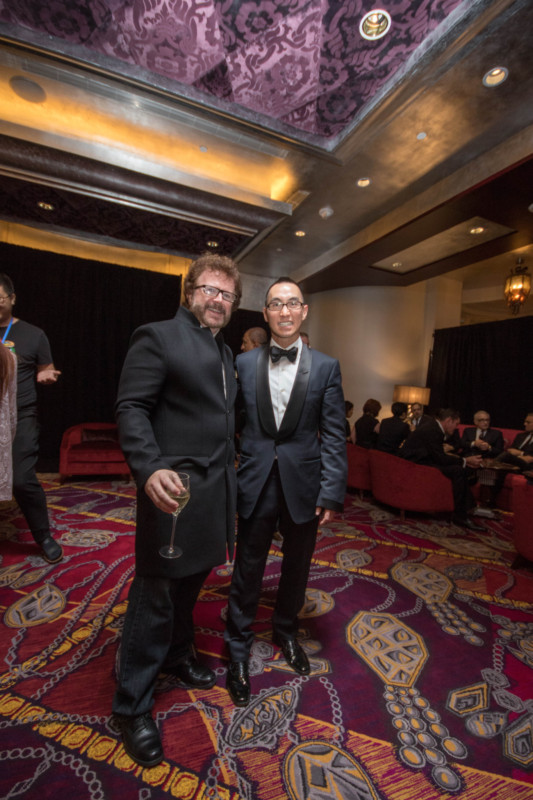 10 Gary Goddard, left, and Mr. Lawrence Ho, right, Studio City Macau